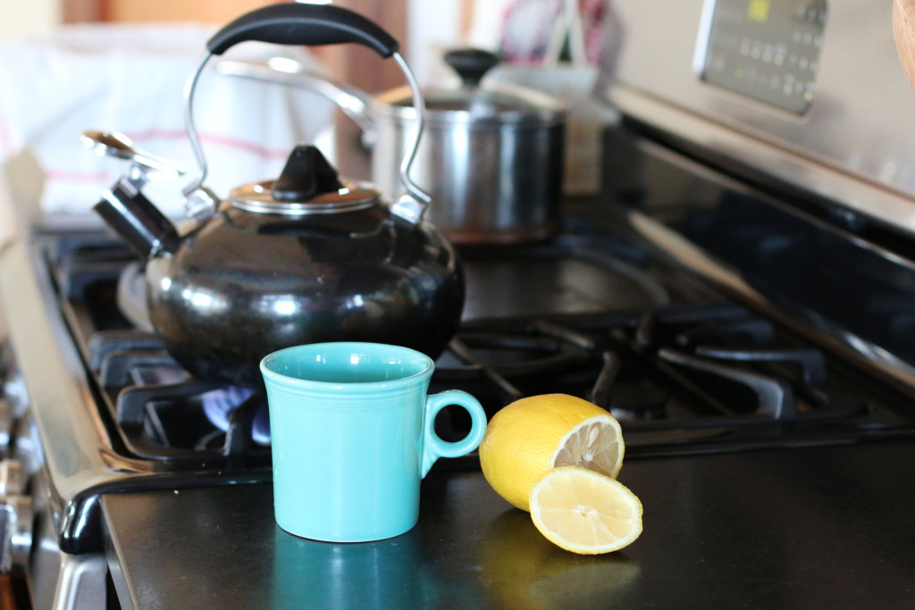 Lemon Water – (Happy New Year!)
