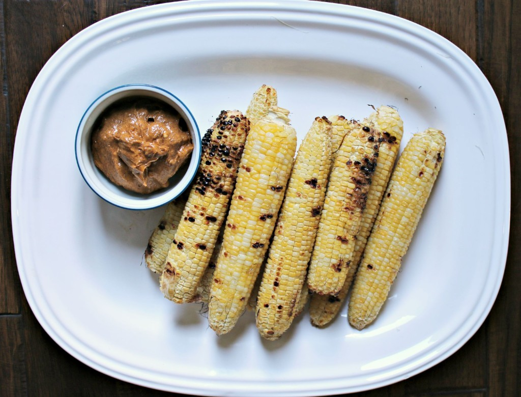 Grilled Sweet Corn with BBQ Butter